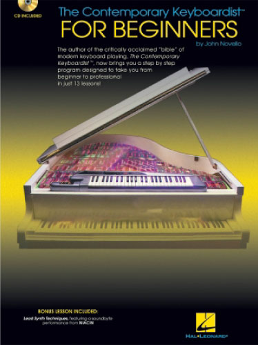 The Contemporary Keyboardist for Beginners book cover