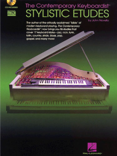 THE CONTEMPORARY KEYBOARDIST – STYLISTIC ETUDES book cover